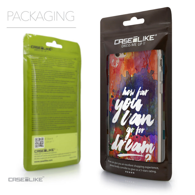 Packaging - CASEiLIKE Apple iPhone 6 back cover Quote 2421