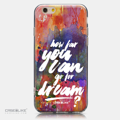 CASEiLIKE Apple iPhone 6 back cover Quote 2421