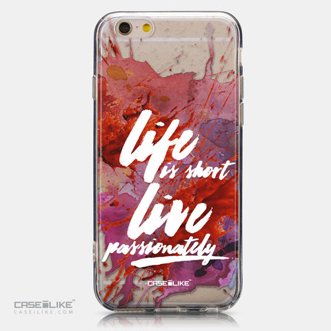 CASEiLIKE Apple iPhone 6 back cover Quote 2423