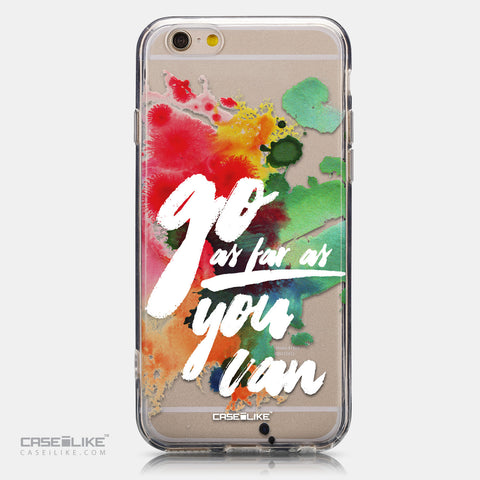 CASEiLIKE Apple iPhone 6 back cover Quote 2424