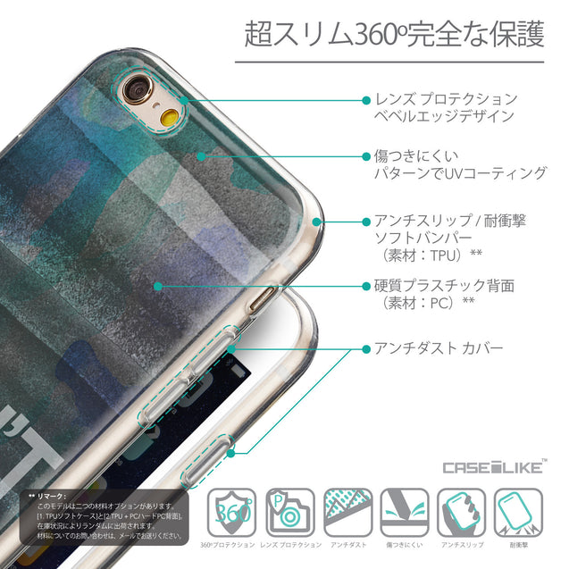 Details in Japanese - CASEiLIKE Apple iPhone 6 back cover Quote 2431