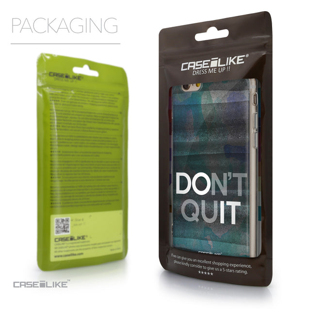 Packaging - CASEiLIKE Apple iPhone 6 back cover Quote 2431