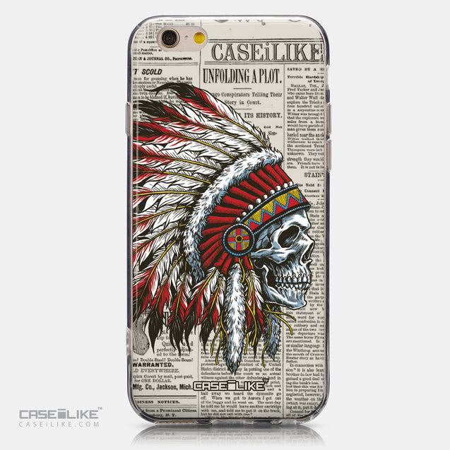CASEiLIKE Apple iPhone 6 back cover Art of Skull 2522