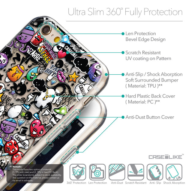 Details in English - CASEiLIKE Apple iPhone 6 back cover Graffiti 2703
