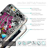 Details in English - CASEiLIKE Apple iPhone 6 back cover Graffiti 2704
