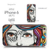 Collection - CASEiLIKE Apple iPhone 6 back cover Graffiti Girl 2725