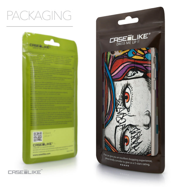 Packaging - CASEiLIKE Apple iPhone 6 back cover Graffiti Girl 2725
