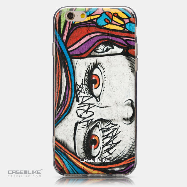 CASEiLIKE Apple iPhone 6 back cover Graffiti Girl 2725