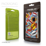 Packaging - CASEiLIKE Apple iPhone 6 back cover Comic Captions Blue 2913