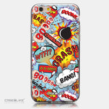 CASEiLIKE Apple iPhone 6 back cover Comic Captions Blue 2913
