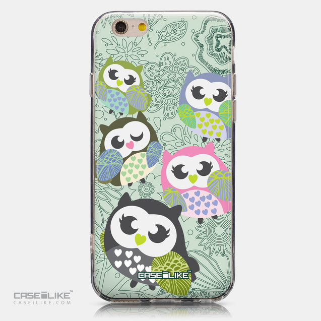 CASEiLIKE Apple iPhone 6 back cover Owl Graphic Design 3313