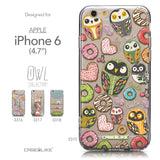 Collection - CASEiLIKE Apple iPhone 6 back cover Owl Graphic Design 3315