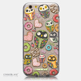 CASEiLIKE Apple iPhone 6 back cover Owl Graphic Design 3315