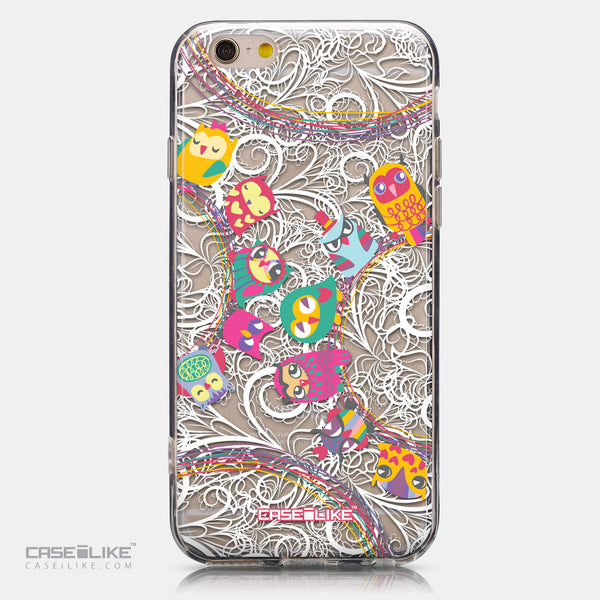CASEiLIKE Apple iPhone 6 back cover Owl Graphic Design 3316