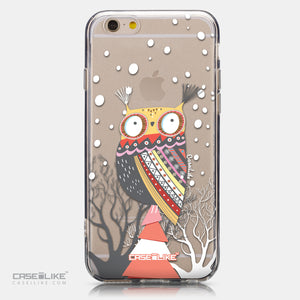 CASEiLIKE Apple iPhone 6 back cover Owl Graphic Design 3317