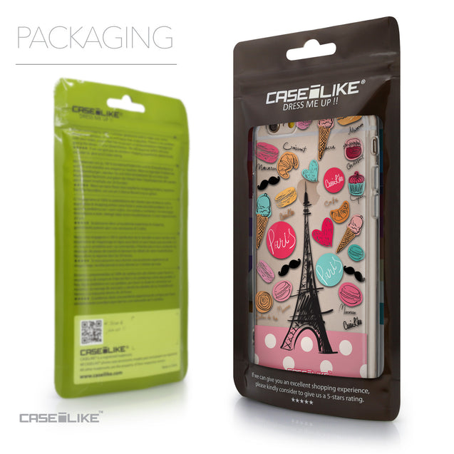Packaging - CASEiLIKE Apple iPhone 6 back cover Paris Holiday 3904