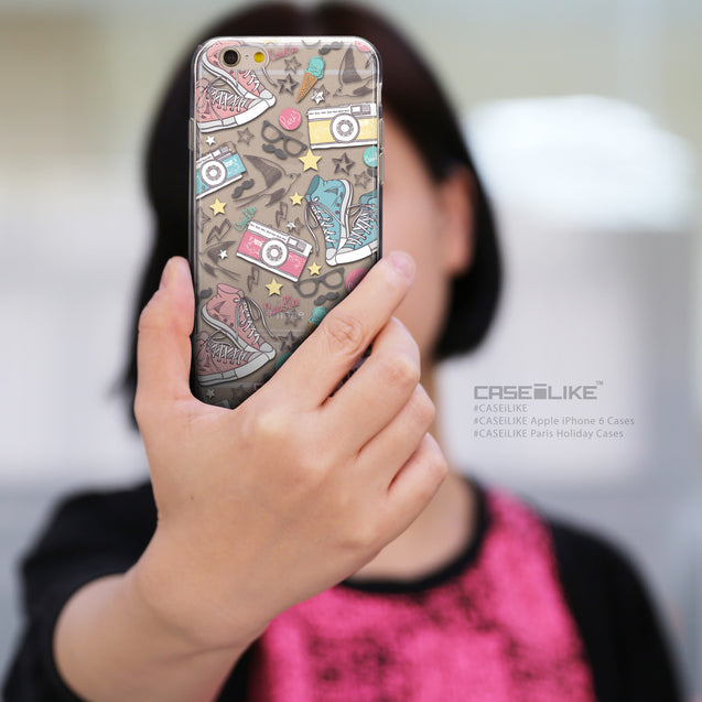 Share - CASEiLIKE Apple iPhone 6 back cover Paris Holiday 3906