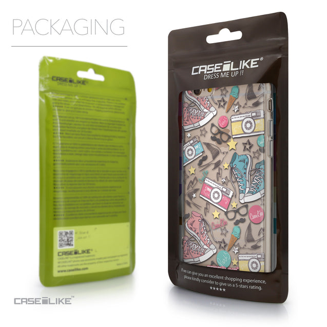 Packaging - CASEiLIKE Apple iPhone 6 back cover Paris Holiday 3906