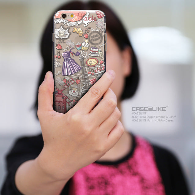 Share - CASEiLIKE Apple iPhone 6 back cover Paris Holiday 3907