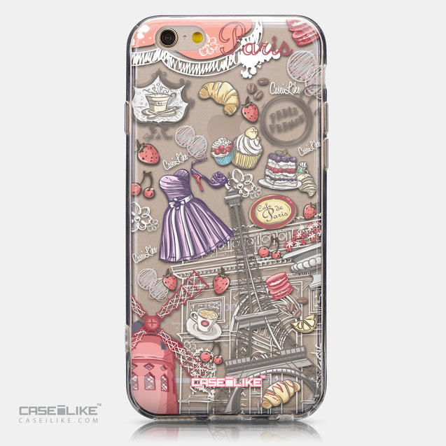 CASEiLIKE Apple iPhone 6 back cover Paris Holiday 3907