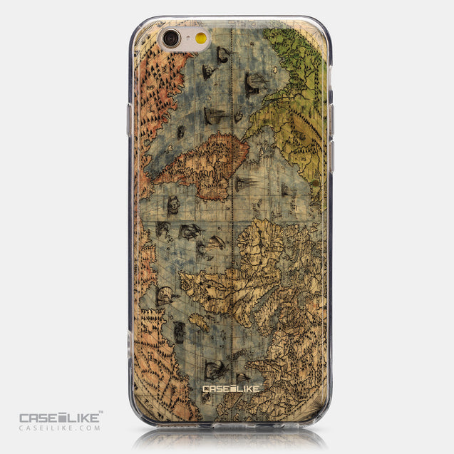 CASEiLIKE Apple iPhone 6 back cover World Map Vintage 4608
