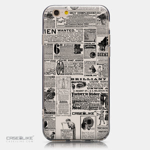 CASEiLIKE Apple iPhone 6 back cover Vintage Newspaper Advertising 4818