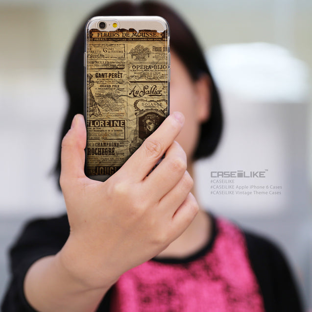 Share - CASEiLIKE Apple iPhone 6 back cover Vintage Newspaper Advertising 4819