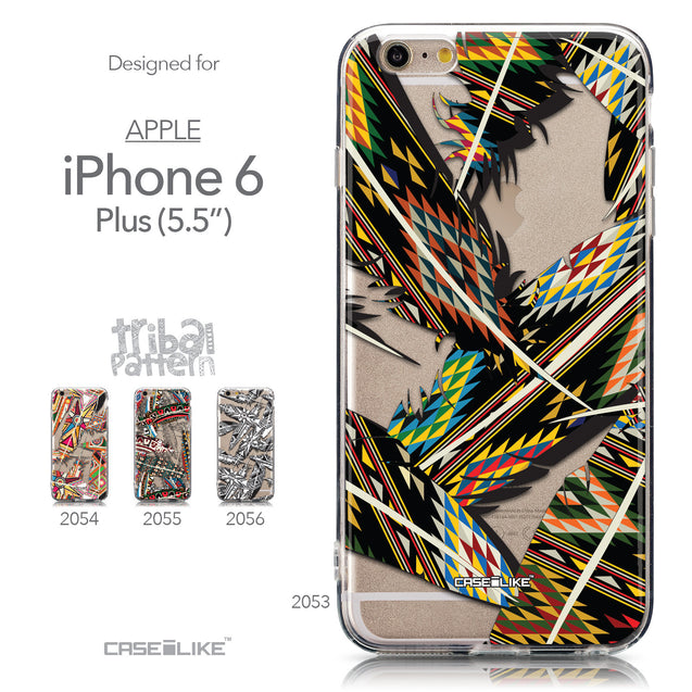 Collection - CASEiLIKE Apple iPhone 6 Plus back cover Indian 2053 Tribal Theme Pattern