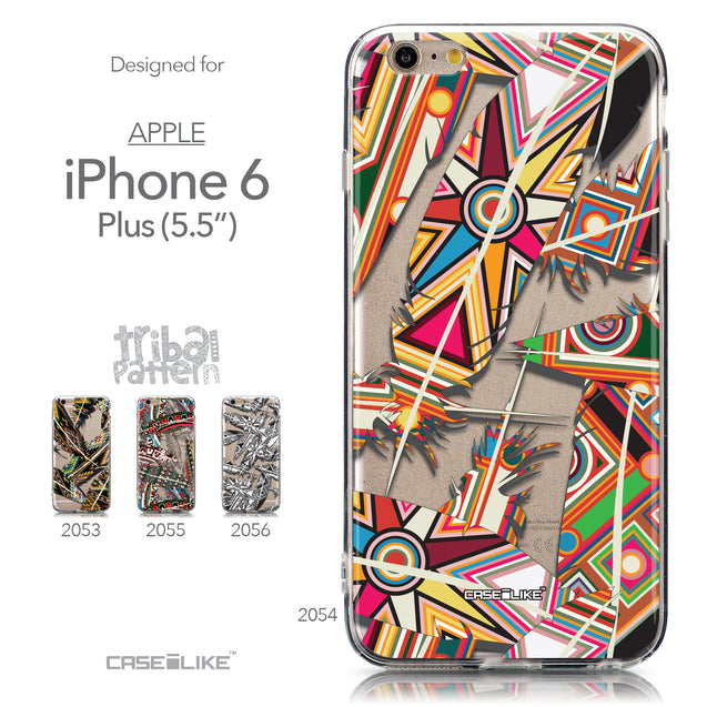 Collection - CASEiLIKE Apple iPhone 6 Plus back cover Indian 2054 Tribal Theme Pattern