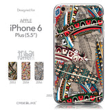 Collection - CASEiLIKE Apple iPhone 6 Plus back cover Indian 2055 Tribal Theme Pattern
