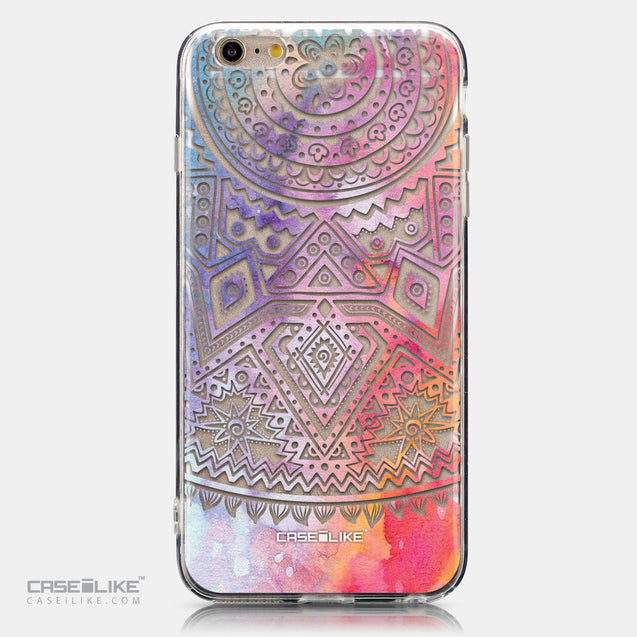 CASEiLIKE Apple iPhone 6 Plus back cover Indian Line Art 2065