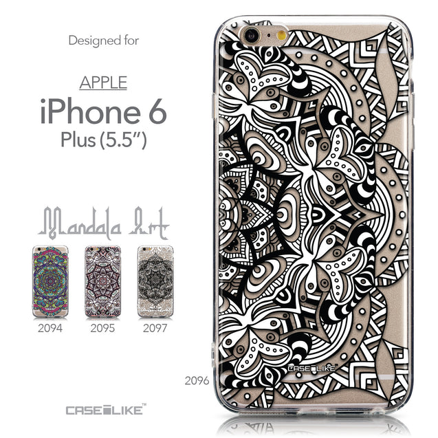 Collection - CASEiLIKE Apple iPhone 6 Plus back cover Mandala Art 2096