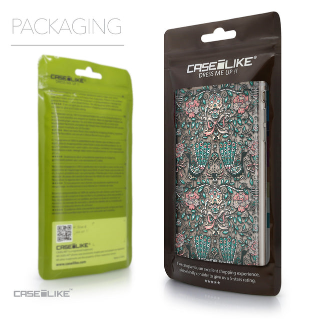 Packaging - CASEiLIKE Apple iPhone 6 Plus back cover Roses Ornamental Skulls Peacocks 2226