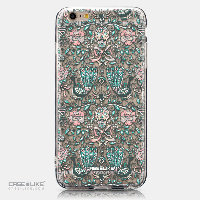 CASEiLIKE Apple iPhone 6 Plus back cover Roses Ornamental Skulls Peacocks 2226