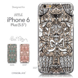 Collection - CASEiLIKE Apple iPhone 6 Plus back cover Roses Ornamental Skulls Peacocks 2227