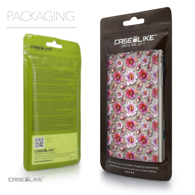 Packaging - CASEiLIKE Apple iPhone 6 Plus back cover Watercolor Floral 2232