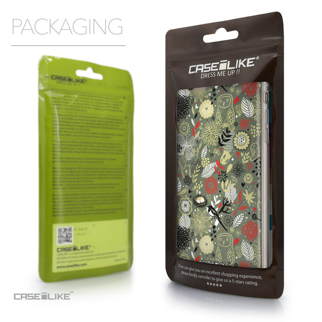 Packaging - CASEiLIKE Apple iPhone 6 Plus back cover Spring Forest Gray 2243
