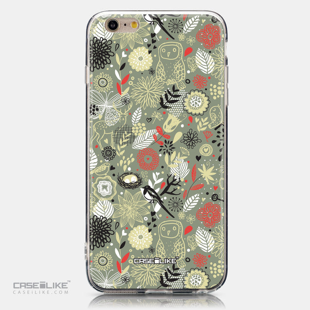 CASEiLIKE Apple iPhone 6 Plus back cover Spring Forest Gray 2243