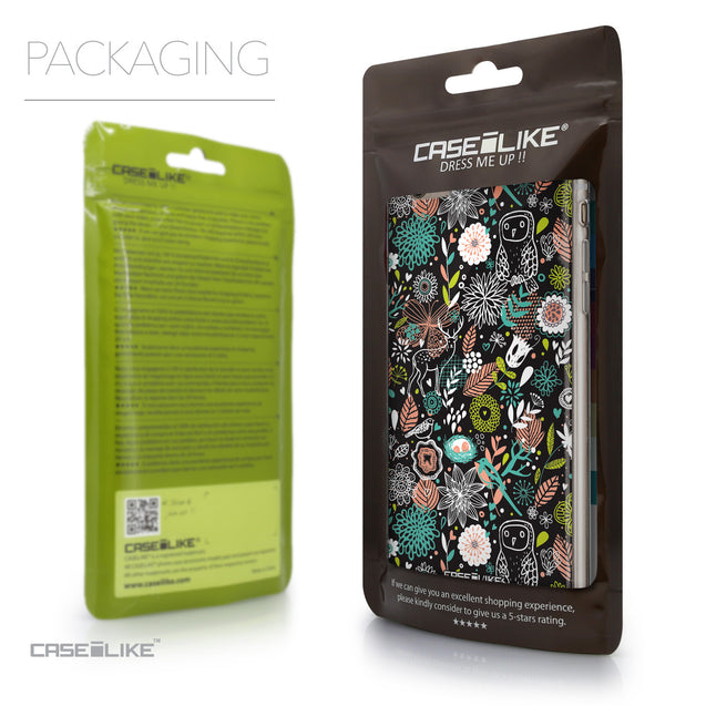 Packaging - CASEiLIKE Apple iPhone 6 Plus back cover Spring Forest Black 2244