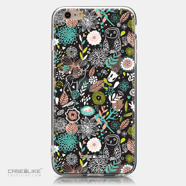 CASEiLIKE Apple iPhone 6 Plus back cover Spring Forest Black 2244