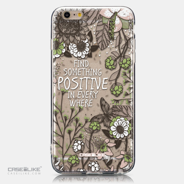 CASEiLIKE Apple iPhone 6S / 6 Plus back cover Blooming Flowers 2250