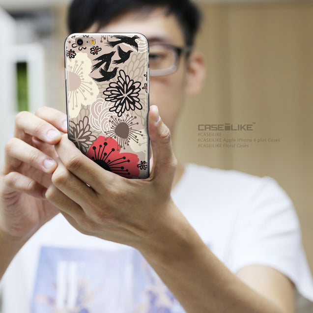 Share - CASEiLIKE Apple iPhone 6 Plus back cover Japanese Floral 2254