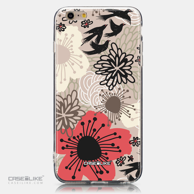 CASEiLIKE Apple iPhone 6 Plus back cover Japanese Floral 2254