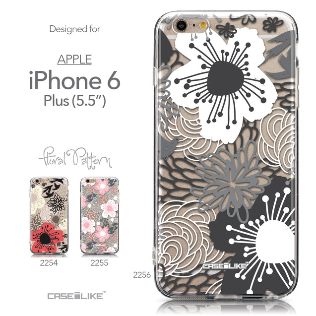Collection - CASEiLIKE Apple iPhone 6 Plus back cover Japanese Floral 2256