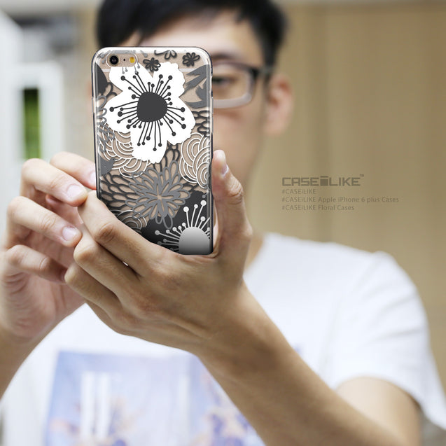 Share - CASEiLIKE Apple iPhone 6 Plus back cover Japanese Floral 2256