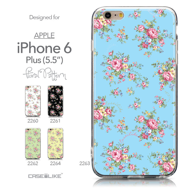 Collection - CASEiLIKE Apple iPhone 6 Plus back cover Floral Rose Classic 2263