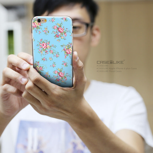 Share - CASEiLIKE Apple iPhone 6 Plus back cover Floral Rose Classic 2263