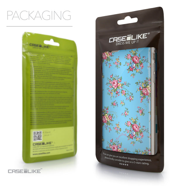 Packaging - CASEiLIKE Apple iPhone 6 Plus back cover Floral Rose Classic 2263