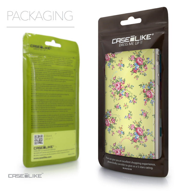 Packaging - CASEiLIKE Apple iPhone 6 Plus back cover Floral Rose Classic 2264