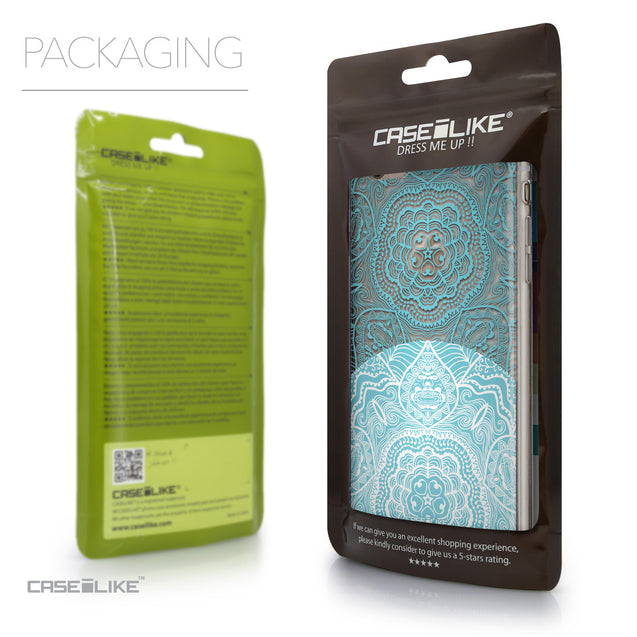 Packaging - CASEiLIKE Apple iPhone 6 Plus back cover Mandala Art 2306